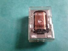 Relay V23012-A0123-A001 SIEMENS 9 pins transparent NOS