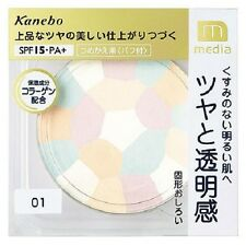"From JAPAN Kanebo media Bright up Powder SPF15 PA+ ""Refill"" / Color 01 clear"