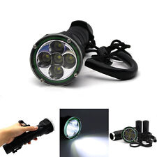 8000LM 5X Cree XML XM-L T6 LED 100M Underwater Diving Scuba Flashlight Torch
