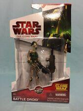Star Wars Clone Wars AAT Driver Battle Droid CW33 MOSC