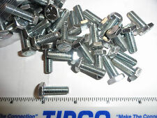 "1/4-28 X 3/4"" Long Fully Threaded Grade 5 Hex Head Screws"