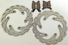 SUZUKI 1999-2005 RM125 / RM250 FRONT AND REAR BRAKE PADS AND SPORT BRAKE ROTORS