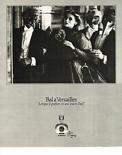 PUBLICITE ADVERTISING 044  1978  BAL A VERSAILLES   parfum JEAN DESPREZ