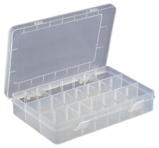 Tackle Jewellery Pill Tablet Tool Size 15 Section Compartment Box Tub #F662D