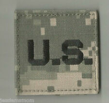"ACU  U.S. PATCH WITH HOOK FASTENER 2"" BY 2"""