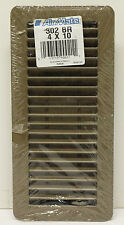 "Air Mate Heat/Cooling Floor Vent Diffuser Model 302BR Brand New Brown 4"" x 10"""