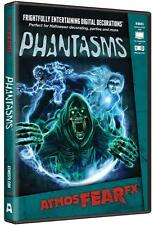 Halloween Prop - ATMOSFEARFX PHANTASMS DVD for TV or window projection NEW
