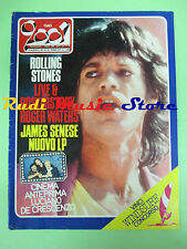 rivista CIAO 2001 32/1984 POSTER Roger Waters Rolling Stones Ian Dury  No cd