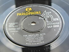 THE BEATLES ORIGINAL  1963  UK EP  THE BEATLES HITS  ORIGINAL PRESSING EXCELLENT