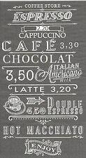1 Serviette Dîner en papier - Café Cappuccino - Paper Napkins Coffee