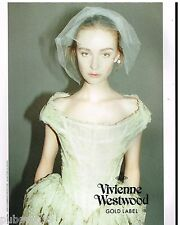 Publicité Advertising 2012 Haute couture Vivienne Westwood