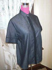 Amazing All Saints Trente Shirt Indigo Size 8 BNWT
