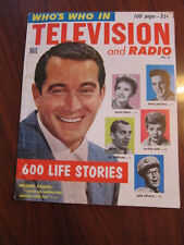 Who's Who in TV and radio 1956 Lucille Ball Phil Silvers Alfred Hitchcock etc