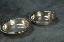 "Webster Wilcox International Silver Co, 2 Silverplate Bowls 6"" Matching 76P"