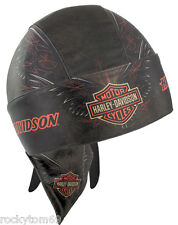 Harley-Davidson® Men's Bar & Shield Pinstriping Headwrap HW04630 RETRED!!!