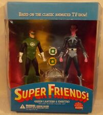 DC Direct Super Friends TV Green Lantern Sinestro Hall Of Justice Power Rings