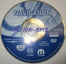 2003 2004 2005 Jeep Wranger Liberty Grand Cherokee Overland Navigation DVD Map