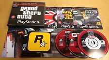 GRAND THEFT AUTO COLLECTORS EDITION for SONY PS1, PS2 & PS3 RARE by Rockstar