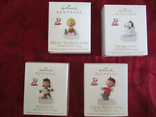 "HALLMARK KEEPSAKE ORNAMENT ~ ""THE PEANUTS GANG"" ~ SNOOPY, LUCY, CHARLIE BROWN ."