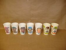 16 HUGE 7-11 SLURPEE BASEBALL CUP LOT ROSE SCHMIDT BELL MADOCK & MORE