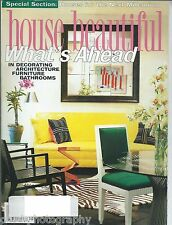 House Beautiful Magazine May 1998 Houses For The Next Millennium What's Ahead