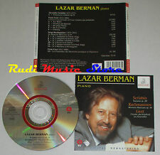CD LAZAR BERMAN Piano SCRIBIN fantasia RACHMANINOV 16 LISZT ERMITAGE lp mc dvd