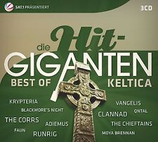 DIE HIT GIGANTEN BEST OF KELTICA - CHRIS DE BURGH/NIGHTWISH/+ 3 CD NEU