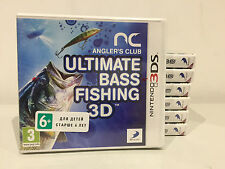 Angler's Club: Ultimate Bass Fishing 3D NINTENDO 3DS PAL NEW SEALED