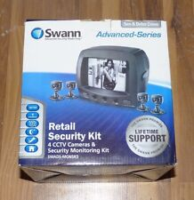 Swann Retail Security Monitor Kit 4 CCTV Cameras Security Monitoring System