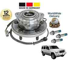 FOR JEEP COMMANDER XK 3.0 3.7 4.7 5.7 NEW FRONT WHEEL BEARING HUB KIT