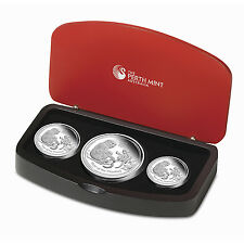 2016 Australia 3-Coin Silver Lunar Monkey Proof Set - SKU #92797