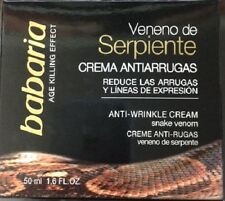 Babaria Snake Venom Anti-wrinkle Cream /Veneno de Serpiente 50 ml 1.6 fl oz.