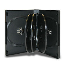 NEW! 1 Premium 7-Disc DVD Case 27mm Black - Holds 7 discs