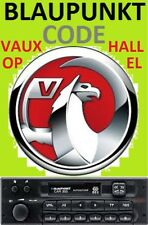 Unlock Pin Code provided CAR 2003 CAR 300 BLAUPUNKT VAUXHALL Radio Stereo