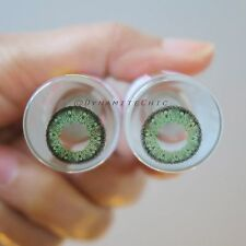 Kitty Kawaii Sara Green Color Contact Lenses for Cosplay, Party