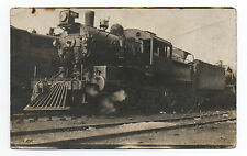 1913 RPPC Postcard of P & R Train from New Jersey Railroad # 320