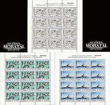 1991 - España Ed 3104/3106 MP 28/30  Yv 2715/2717  Feuille  ** MNH Nuevo sin Cha