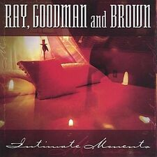 DAMAGED ARTWORK CD Ray Goodman & Brown: Intimate Moments