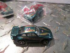 20  97 Hot Wheels GREEN PORSCHE BONUS mail in car 97 Q4 Mystery baggie sealed