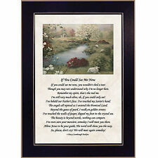 'If You Could See Me Now' Memorial Framed Wall Art