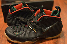 BRAND NEW with receipt Men's sz 9 Nike black guc foamposite basketball shoes
