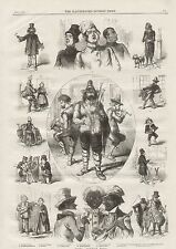 1859  LONDON OUTDOOR MUSIC INSTRUMENTS PERFORMERS
