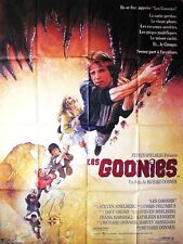 Affiche 120x160cm LES GOONIES (THE GOONIES) 1985 Richard Donner TBE