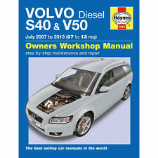 HAYNES MANUAL Volvo S40 V50 1.6 2.0 2.4 Diesel July 2007-2013