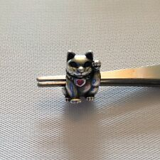 Pandora 790989EN05 Lucky Cat Enamel Sterling Charm Authentic
