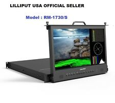 "Lilliput 17.3"" RM-1730S Full HD Pull-out SDI HDMI Metal Broadcast Rack Monitor"