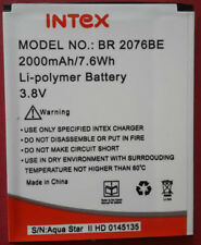 REPLACEMENT BR-2076BE BATTERY FOR INTEX AQUA STAR 2 (2000 mAh)