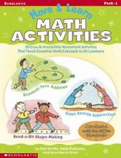 Move & Learn Math Activities: 30 Easy & Irresistible Movement Activities That Te
