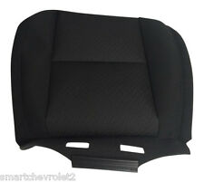 Chevy Front SEAT COVERS Bottom Tahoe Sierra Black cloth New GM OEM 20833415