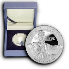 2015 Lincoln Memorial Monument NIUE 1 oz Proof Silver Coin With Box & COA